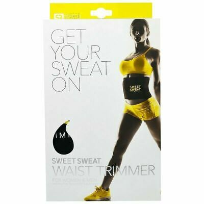 Sports Research Sweet Sweat Waist Trimmer Belt One Size fits Most 1 Belt + BONUS