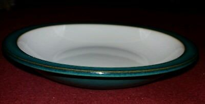 Denby Greenwich Green Soup/pasta Bowl Rimmed 8.25 Inches
