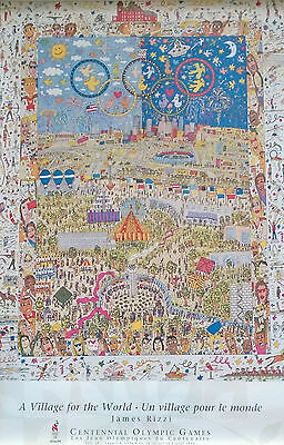 """James Rizzi    -  """" A Village for the World """""""