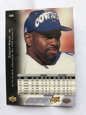 Emmitt Smith - Dallas Cowboys - Sammlerkarte #188