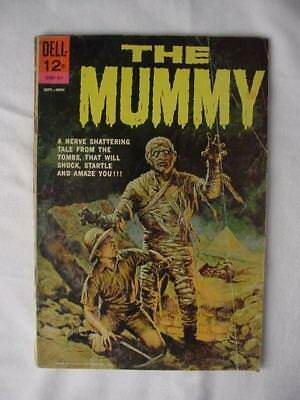 VINTAGE 1962 DELL 12 CENT ( The Mummy ) Silver Age Comic Book Monster