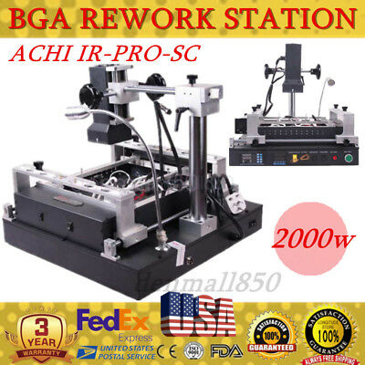 IR-PRO-SC BGA ACHI Rework Station Welder Infrared Solder Reflow Reball for XBOX