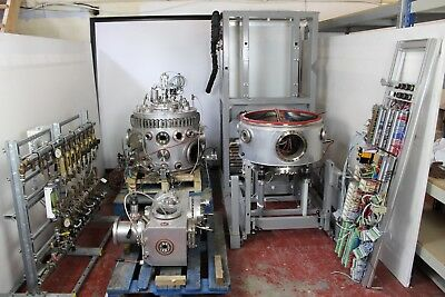 Balzers UMS 630 UHV Ultra High Vacuum Thin Film Deposition Chamber