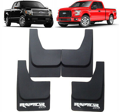 New OEM Set Splash Guards Mud Flaps FL3Z-16A550 FOR 2005-2018 Ford Raptor F-150