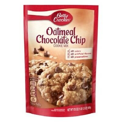 Betty Crocker Oatmeal Chocolate Chip Cookie Mix 17.5 oz pouch