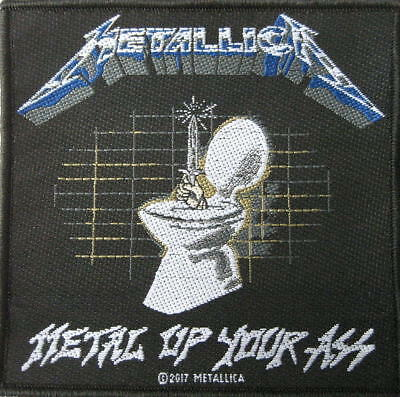 METALLICA - METAL UP YOUR ASS - WOVEN SEW ON PATCH - free shipping