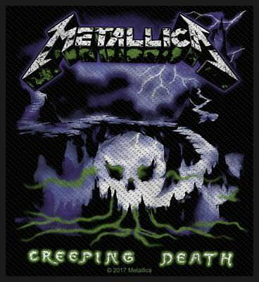 METALLICA - CREEPING DEATH 2017 - WOVEN SEW ON PATCH - free shipping