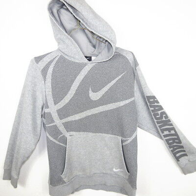 Boys Nike Basketball Hoodie Sweatshirt Size L Large