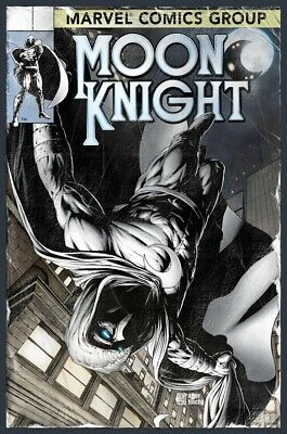 moon knight 194 JTC finch  variant serial numbered and limited to 600 presale