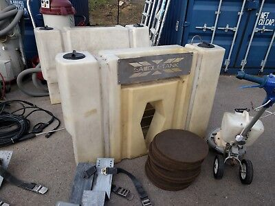 PROCHEM Saddle Water Tanks Wheel Arch 300I Truck Mount Cleaning Business