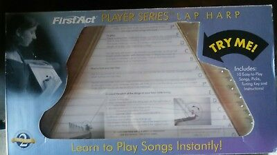 NEW First Act Beginner Player Series Lap Harp