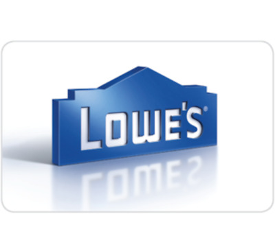 Buy a $200 Lowe's GiftCard, get an addt'l $20 on your card ($220 value) - Email