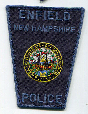Enfield New Hampshire Police Patch // FREE US Shipping!