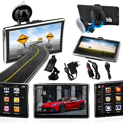 7 zoll lkw pkw auto gps navi navigationsger t navigation. Black Bedroom Furniture Sets. Home Design Ideas