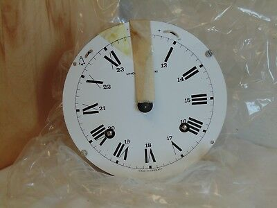 132-071 Franz Hermle German Ship's Clock Movement w/ Brass Bell - Looks New Old