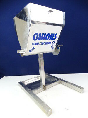 Perfection Condiment Onion Stainless Dispenser Commercial Countertop NO LID