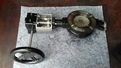 Butterfly Valve DN100 With Manual Gearbox