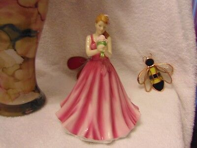 Royal Doulton Pretty Ladies  Figurine MAY-PEONY-PERFECT HAPPINESS-