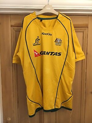 Australia Rugby Jersey Mens Large