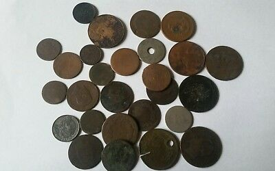 Old Cull Foreign coin lot