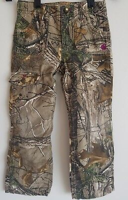 CARHARTT Kids Camo HUNTING PANTS Size Kid YOUTH 6