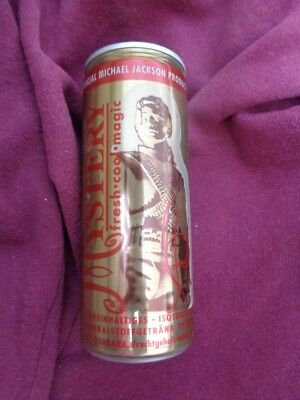 129 Getränkedose 0,33 l leer Mystery Offical Michael Jackson Product MHD 98