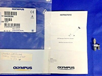 Olympus WA33039A ATTACHMENT W/STOPCOCK FOR WA33036A OP‐TELESCOPE, OEM & NEW!!!