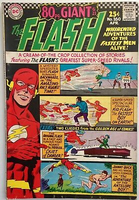 The Flash #160 (5.0) 1966. 80 Page Giant Issue.