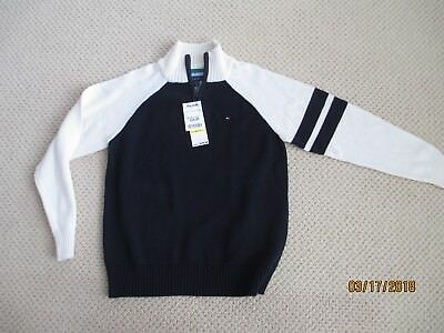 Boys Tommy Hilfiger Long Sleeve Thick Sweater BRAND NEW with TAGS! Size M 12/14