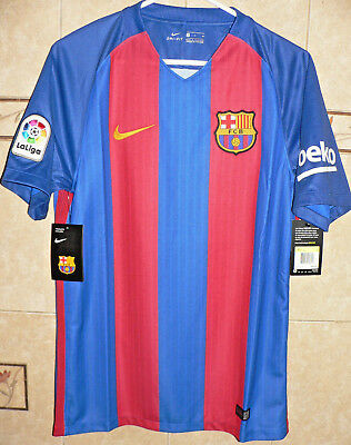 932a107d9b Fc Barcelona Club Spain Soccer Team 2016 17 Nike Home Classic Jersey Xl Size