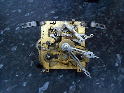 Vintage  Clock Movement for spares or repair