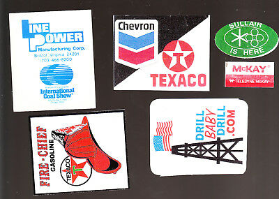 gas and oil rig  decal sticker oilfield gaswell O9
