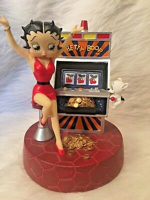 Betty Boop Slot Machine Girl New Collectible Figurine Music Box