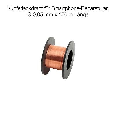 iPhone Rework Kupferlackdraht 0,05 mm 150 m SMD BGA PCB Reparatur Jumper Wire