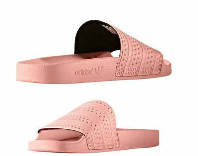 more photos 1be86 406d1 Mens Adidas Adilette Slides Haze Coral - Made in Italy - (BA7538)