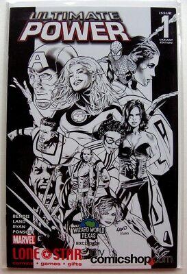 Ultimate Power #1 Wizard World Texas Lone Star Comics Variant NM-/NM