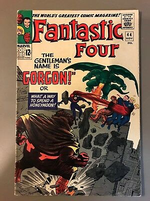 Fantastic Four #44 (Nov 1965, Marvel)