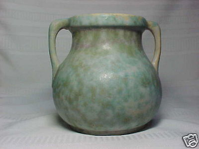 Burley Winter Pottery, Double Handled Vase, Pastels~~~~