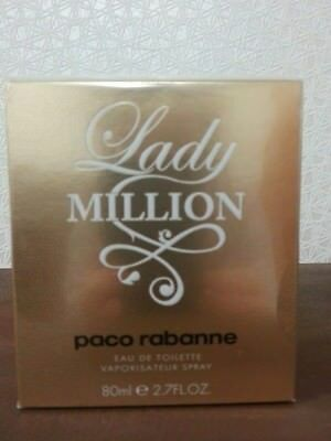 Lady million paco rabanne Eau De Parfum 80 ml Neuf Authentique