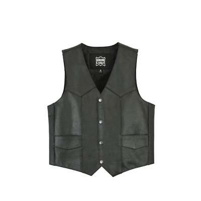 Kids Traditional Style Plain Side Vest