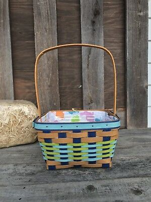 Longaberger 2017 Easter. Asked W Protector Blue! Liner Not Available