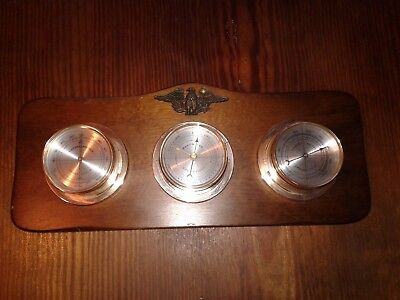Vintage SPRINGFIELD - Wall hanging - Weather Station -