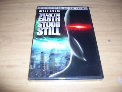 Sy Fy Movie: The Day The Earth Stood Still!! Brand New & Factory Sealed!! 3 Disc
