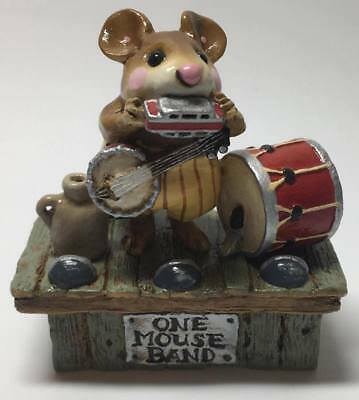 """Wee Forest Folk """"One-Mouse Band"""" 1993 M-196"""