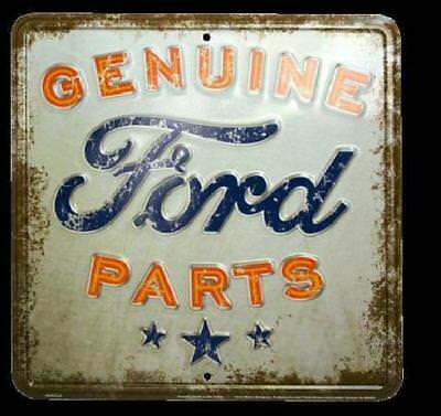 Genuine Ford Parts Nostalgia Sign