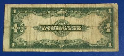 """1923 $1 Blue """"LARGE SIZE"""" SILVER Certificate """"HORSEBLANKET"""" X388 Currency"""