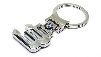 BMW 3 Series key ring key with Beemer Logo key chain with gift pouch
