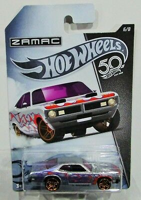 Hot Wheels 2018 50th anniversary zamac series 71 1971 dodge demon 6 / 8