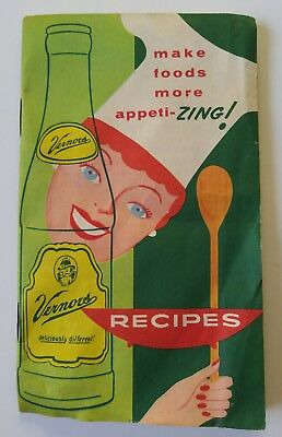 Vernors Ginger Ale Recipe Book circa 1959