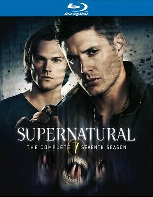 Supernatural: Brand New Sealed The Complete Seventh Season (Blu-ray Disc)